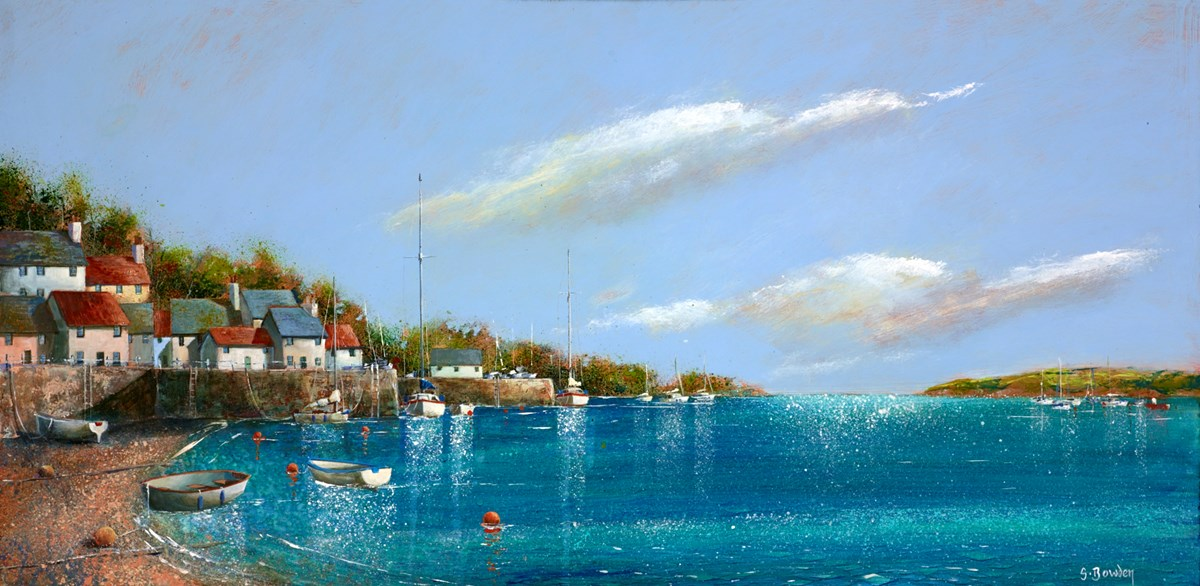 Beyond the Bay by steve bowden -  sized 24x12 inches. Available from Whitewall Galleries